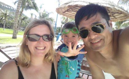 My digital nomad family
