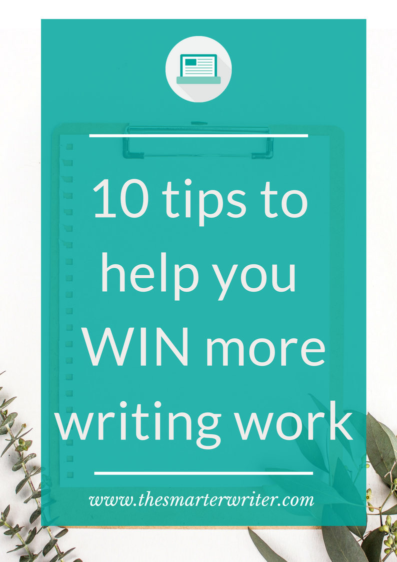 How to win more writing work