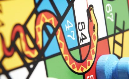 Gaming the System - A game of snakes and ladders