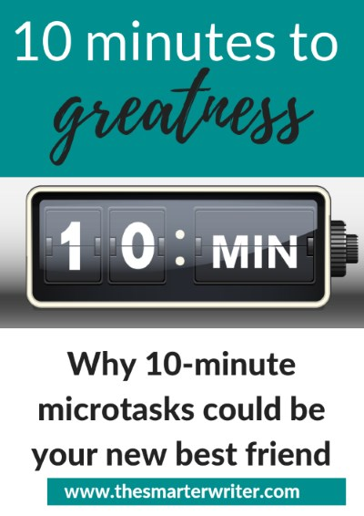 10 minutes to greatness