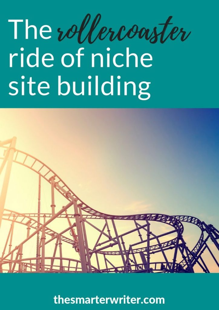 The rollercoaster ride of niche site building