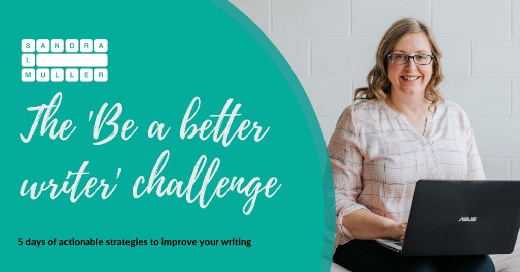 Be a better writer challenge
